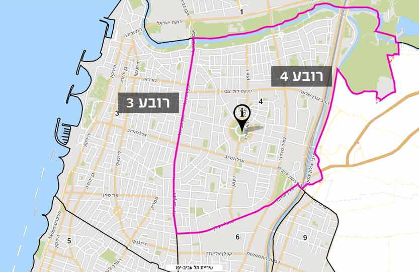 """רובע 4 תל אביב תמ""""א 38"""